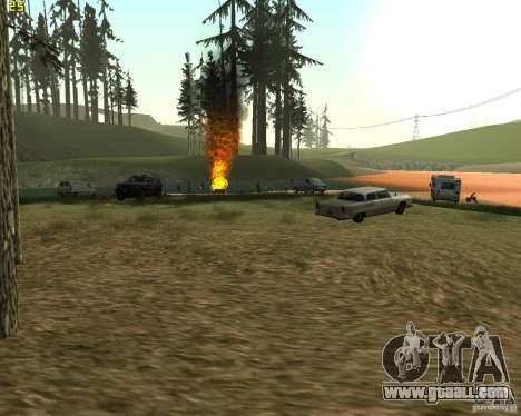 Party on the nature for GTA San Andreas third screenshot