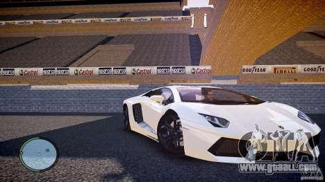 Lamborghini Aventador LP 700-4 for GTA 4 right view