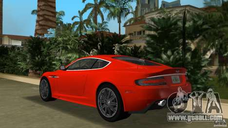 Aston Martin DBS V12 for GTA Vice City back left view