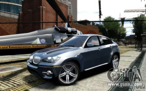 BMW X6 for GTA 4