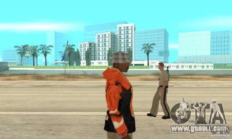 Hoodie 2 for GTA San Andreas second screenshot