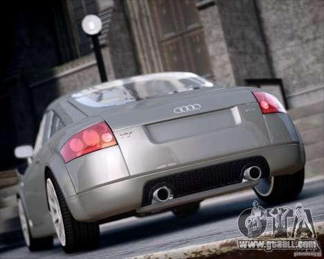 Audi TT 2004 for GTA 4 left view