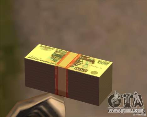 500 rubles for GTA San Andreas
