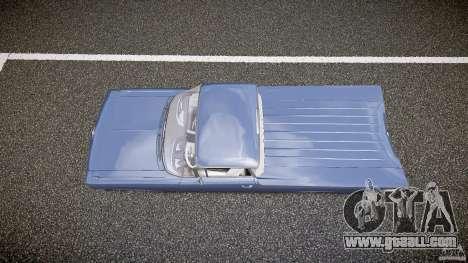 Chevrolet El Camino Custom 1959 for GTA 4 right view