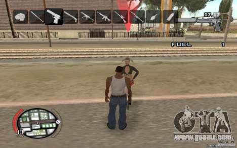 Hide Victim for GTA San Andreas