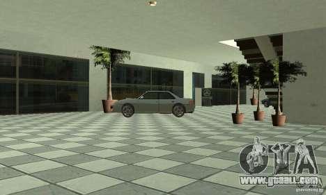 Mercedes Showroom v.1.0 (Autocentre) for GTA San Andreas sixth screenshot