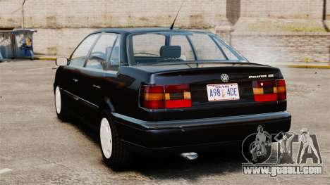 Volkswagen Passat B4 for GTA 4 back left view