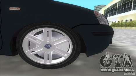 Fiat Panda 2004 for GTA Vice City back view