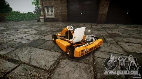 Karting for GTA 4 inner view