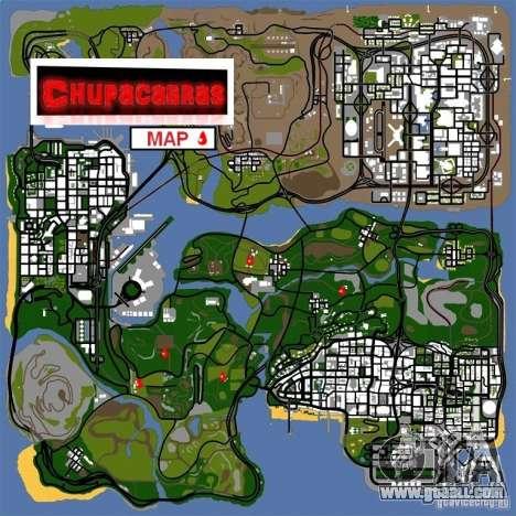 Chupacabra for GTA San Andreas third screenshot