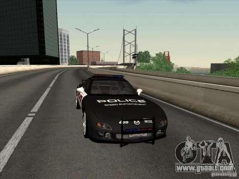 Mazda RX-7 FD3S Police for GTA San Andreas