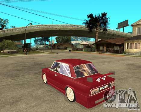 Vaz 2106 Lord for GTA San Andreas left view
