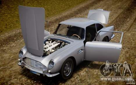 Aston Martin DB5 1964 for GTA 4 upper view