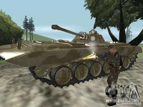 BMP-2 of CGS for GTA San Andreas back view