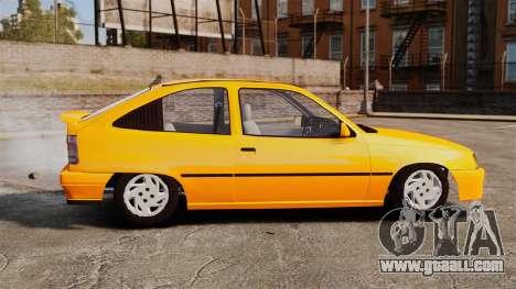 Opel Kadett GL 1.8 1996 for GTA 4 left view