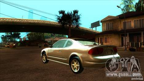 Oldsmobile Alero 2003 for GTA San Andreas back left view