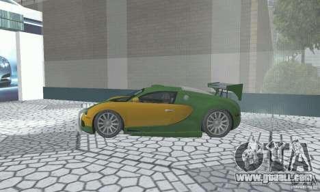 Bugatti Veyron 2005 for GTA San Andreas right view