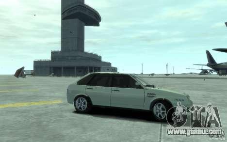 VAZ-2109i Sport for GTA 4 back left view