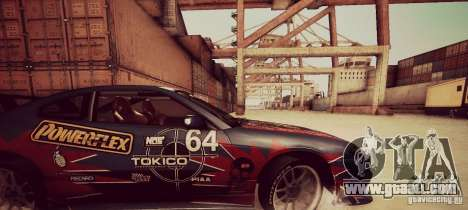 Tokyo Drift map for GTA San Andreas forth screenshot