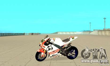 Honda Valentino Rossi Pcj600 for GTA San Andreas left view