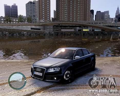 Audi RS4 for GTA 4