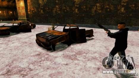 Marshall of Crysis 2 for GTA 4 fifth screenshot