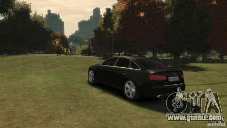 Audi RS6 v.1.1 for GTA 4 left view
