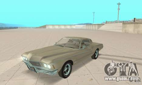 Buick Riviera 1972 Boattail for GTA San Andreas