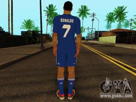 Cristiano Ronaldo v2 for GTA San Andreas forth screenshot