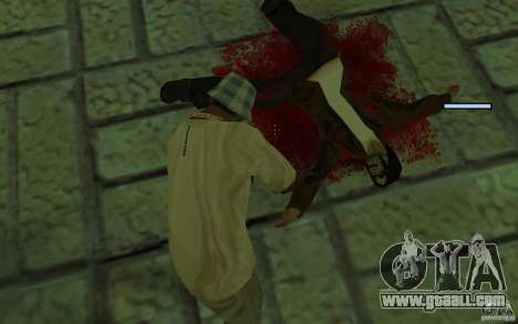 Mutant for GTA San Andreas fifth screenshot