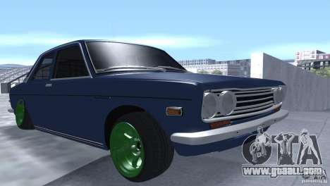 Datsun 510 Drift for GTA San Andreas back view
