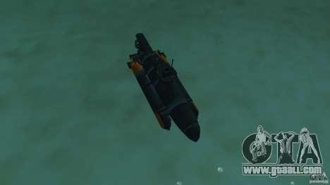Seehund Midget Submarine skin 2 for GTA Vice City inner view