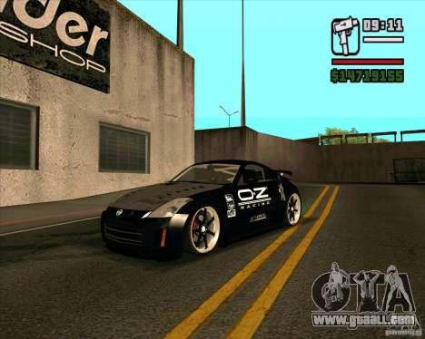 Nissan 350Z Pro Street for GTA San Andreas