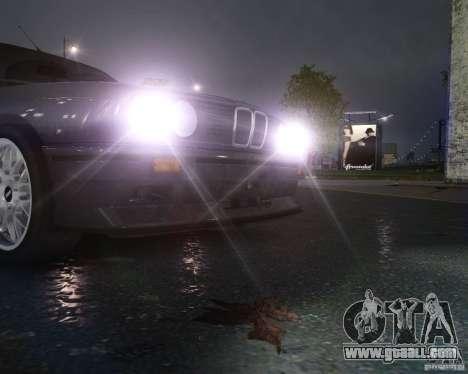 BMW M3 E30 for GTA 4 bottom view