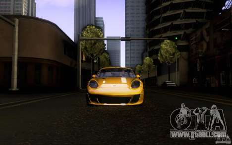 Ruf RK Coupe V1.0 2006 for GTA San Andreas upper view