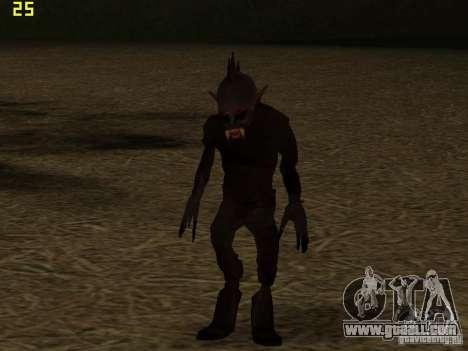 Chupacabra for GTA San Andreas forth screenshot