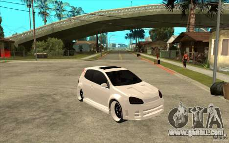 VW Golf 5 GTI Tuning for GTA San Andreas back view