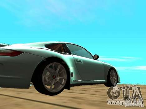 Porsche 997 GT3 RS for GTA San Andreas back view