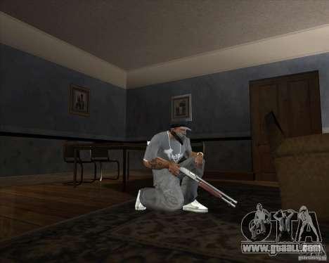 Jarra Mono Arsenal v1.2 for GTA San Andreas third screenshot