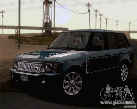 Land Rover Range Rover Supercharged 2008 for GTA San Andreas