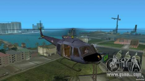 Maverick Bell-Huey for GTA Vice City left view