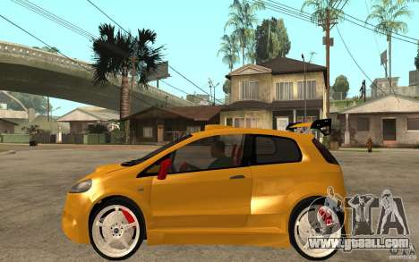 Fiat Grande Punto Tuning for GTA San Andreas left view