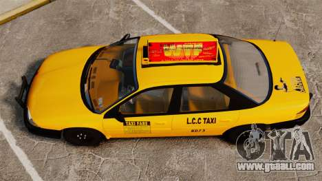 Dodge Intrepid 1993 Taxi for GTA 4 right view