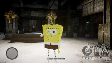 Spongebob for GTA 4
