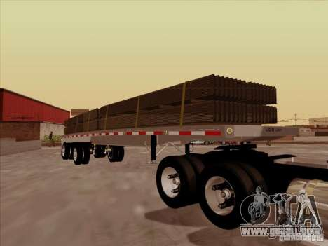 Trailer Artict1 for GTA San Andreas back view