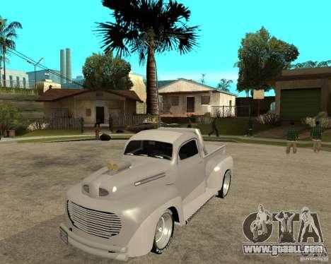 Ford F1 Pickup Hotrod 49 for GTA San Andreas