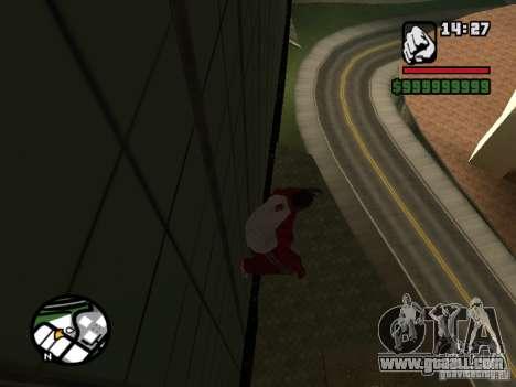 Wallrun-endless running on the wall for GTA San Andreas second screenshot