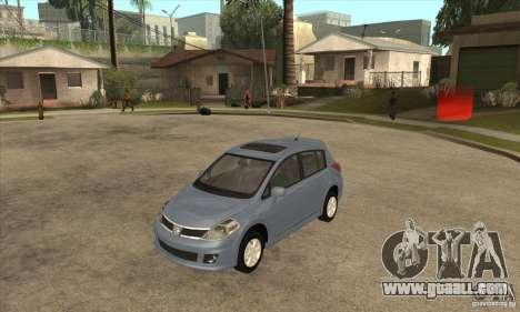 Nissan Tiida for GTA San Andreas