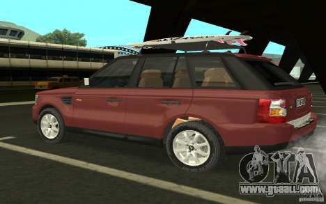 Land Rover Range Rover 2007 for GTA San Andreas right view