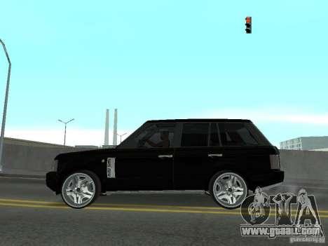 Luxury Wheels Pack for GTA San Andreas seventh screenshot